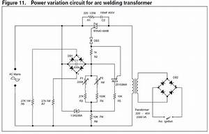 Arc Welding Transformer Power Controller Circuit