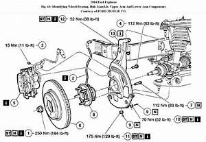 Service Manual  Diagram To Change Wheel Bearing On A 2004 Toyota Corolla