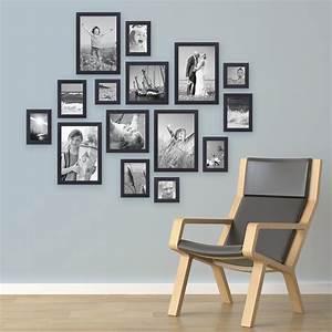 Moderne Bilder Mit Rahmen : 15er set bilderrahmen modern schwarz aus mdf 10x15 bis 20x30 cm inklusive zubeh r zur gestaltung ~ Sanjose-hotels-ca.com Haus und Dekorationen