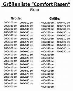 Kunstrasen Teppich Grau : rasenteppich kunstrasen comfort grau 400x450 cm ebay ~ Lateststills.com Haus und Dekorationen