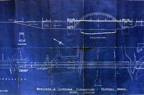 Blueprints Famous Buildings Early Blue Prints