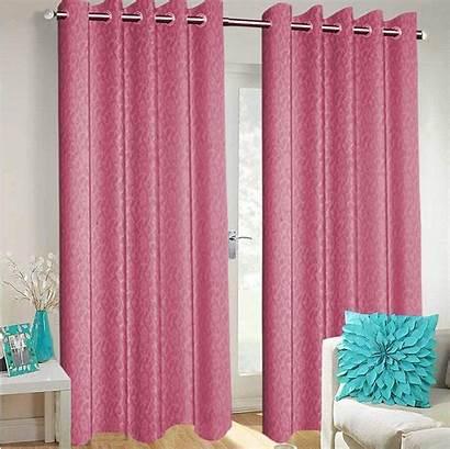 Curtains Voile Dining Semi Grommet Living Transparent