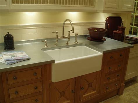 laminate countertop with farmhouse sink zinc countertop gallery brooks custom