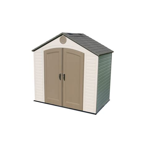Lifetime Products Gable Storage Shed shop lifetime products gable storage shed common 8 ft x