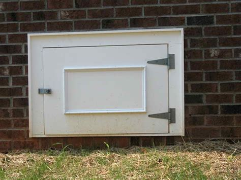 crawl space door awesome crawl space door plans pictures home building