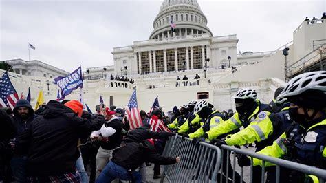 Washington DC Capitol riot George Washington University ...