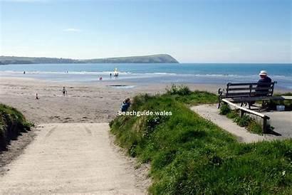 Newport Wales Pembrokeshire Parrog Sands Dinas Head