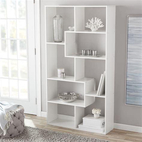 Cube Bookcase by Mainstays 8 Cube Bookcase White Or Espresso Walmart