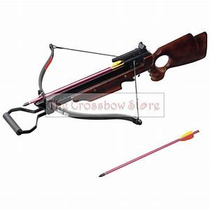 150lbs 150 lbs Wooden Hunting Crossbow with 2 Arrows eBay