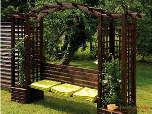 Arche De Jardin En Fer Forgé : arche rosier fer forge ~ Premium-room.com Idées de Décoration
