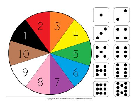 color wheel numbers free printable number wheel the faithful homemaker