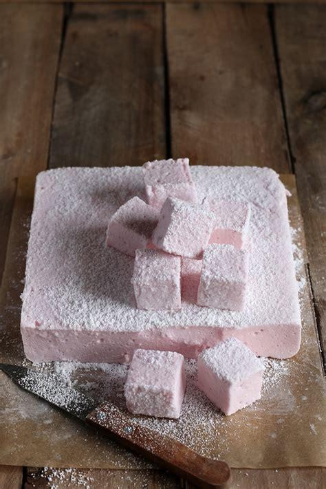 marshmallow alla fragola marshmallow fatto  casa