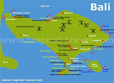 orte und reiseziele auf bali kuta denpasar saur ubud