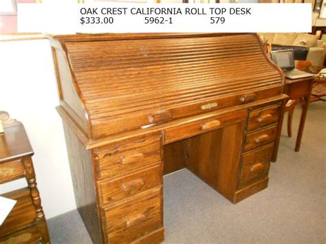 oak crest roll top desk oak crest california roll top desk 333 00 for the home
