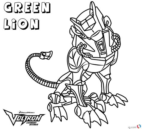 voltron blue lion printable coloring pages coloring pages