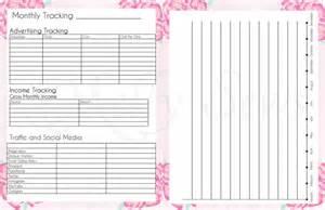 Free DIY Printable Planner Pages