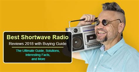 Best Shortwave Radio Reviews 2018 With Buying Guide