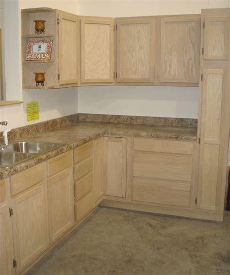 Unfinished Wood Kitchen Cabinets  Home Interior Design