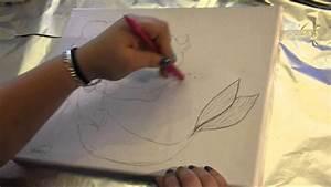 ej peinture comment faire une toile en 30 secondes youtube With comment diluer de la peinture