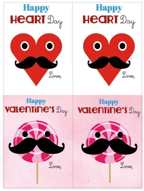 valentines day card kids valentines day printable cards