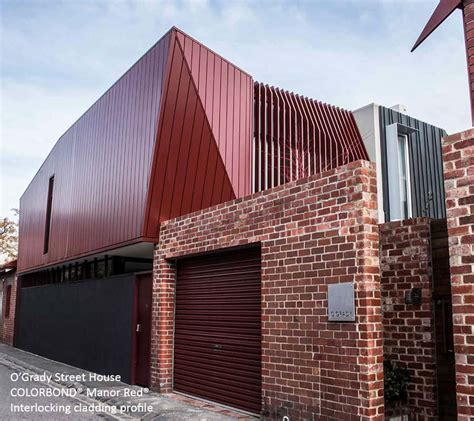 colorbond steel metal cladding systems