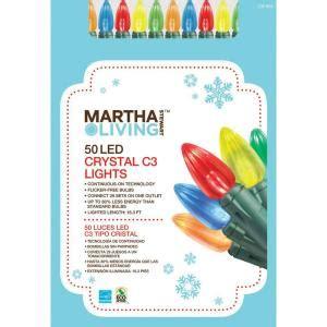 martha stewart living 50 soft light led mini string lights martha stewart led light set for 8 88 shipped