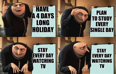 Gru Meme Template Despicable Me Diabolical Plan Gru Template Meme Generator