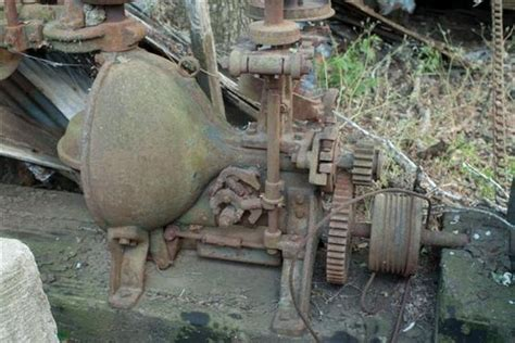 A Very Old Woodward Governor Company Type C Turbine Water