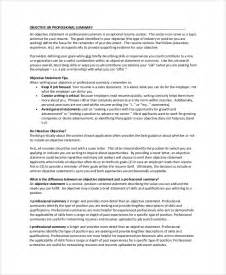 resume summary exle 8 sles in word pdf