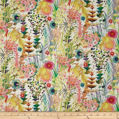 Liberty Print Upholstery Fabric by Liberty Fabrics Tresco Lawn Multi Discount