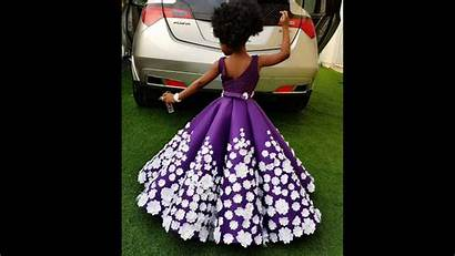 African Children Gorgeous Dresses Outfits Kid Lifestyle