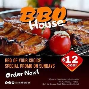 Bbq Hot Burger 2 Template
