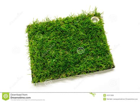 artificial turf tile stock photo image 41011908