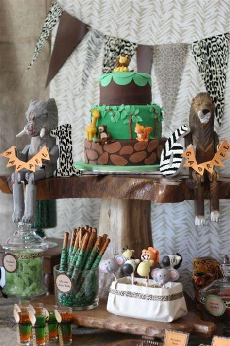 wild animal safari birthday party birthday party ideas