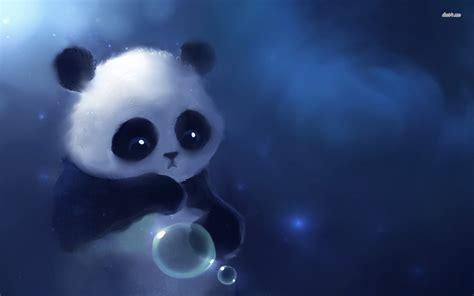 cute baby panda wallpaper wallpapersafari