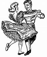 Square Clip Dance Clipart Dancing Dancer Clipartmag sketch template