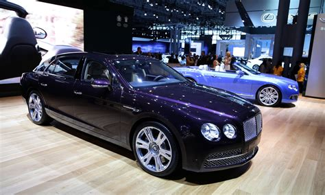bentley flying spur video preview  york auto show
