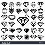 Diamond Vector Tattoo Icon Illustration Designs Tattoos