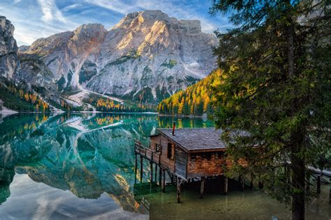 Tales Of Dolomites Lago Di Braies By Alexander