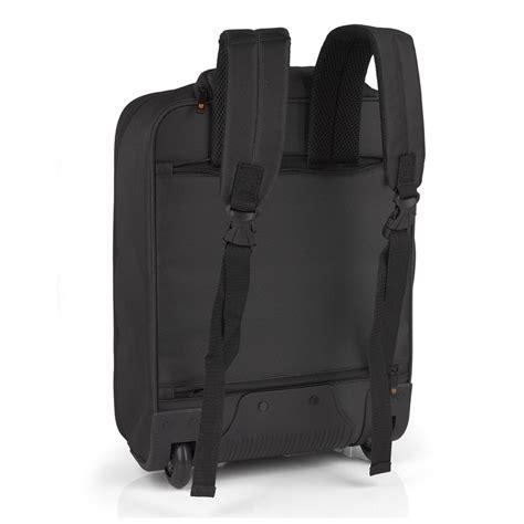 gabol piloto roma handbagage laptop rugzak trolley zwart