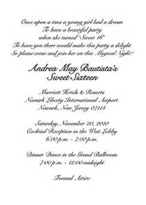 wedding program cover wording sweet sixteen invitation style 1 sle c