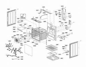 Lg Lre3193st  00 Electric Range Parts