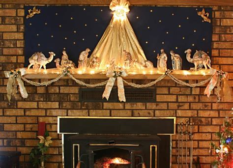 Decorating Ideas For Nativity by Mantel Decoration Ideas Gallery Slideshow