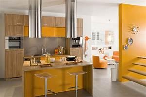 couleur de peinture de cuisine tendance cuisine idees With peinture de cuisine tendance