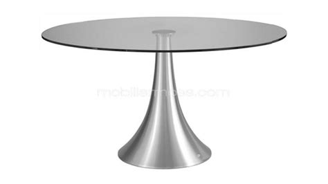 table de cuisine ronde en verre pied central table rabattable cuisine table bois pied central