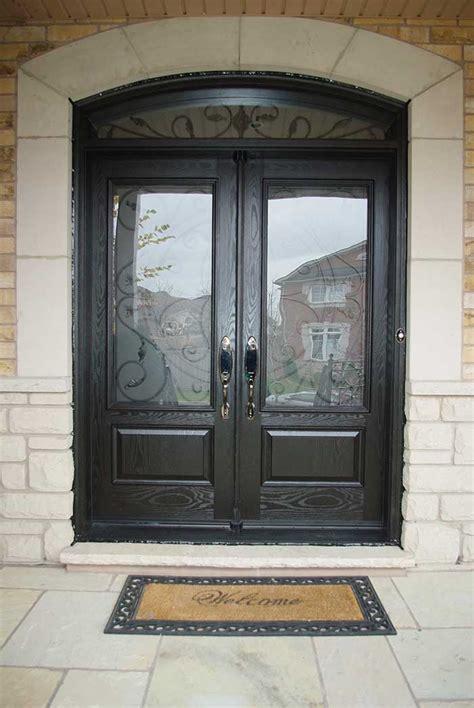 interesting ideas  glass front door interior design