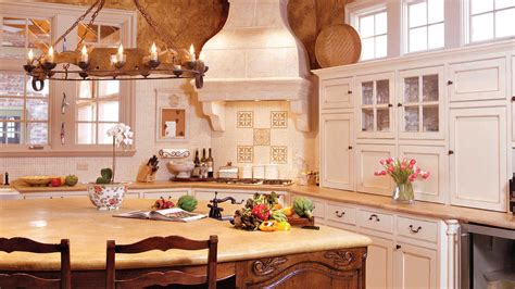 southern country kitchen venetian plaster project southern living magazine 2406