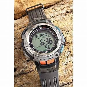 Men U0026 39 S Casio U00ae Pathfinder Triple Sensor Watch