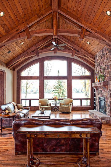 waters edge log home floor plan  wisconsin log homes