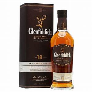 Glenfiddich 18-Year-Old Single Malt Scotch Whisky ...
